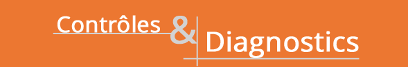 controles et diagnostics